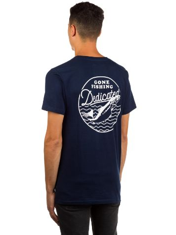 Dedicated Gone Fishing T-Shirt