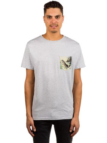 Dedicated Pocket Salmon T-Shirt