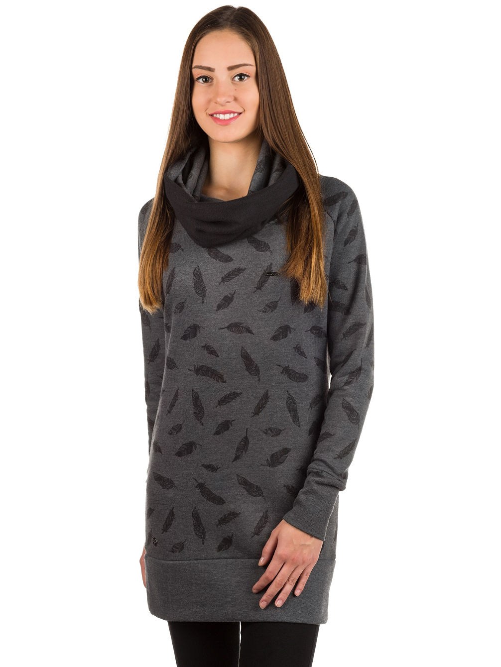 Louth Turtle Neck Hoodie