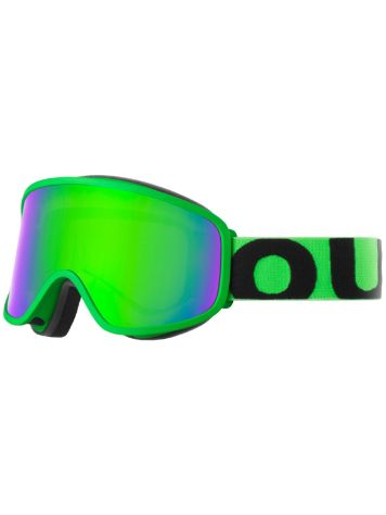Out Of Flat Fluo Green Goggle