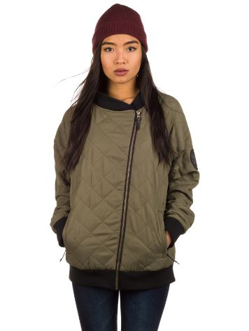 Saga Outerwear Quilted Bomber Jacket