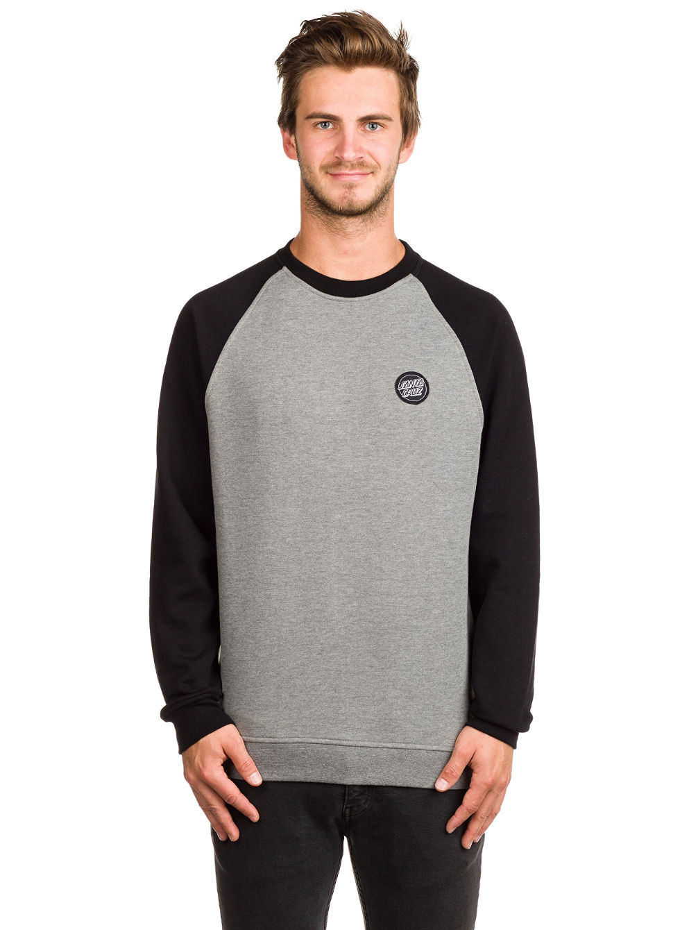 Outline Dot Crew Sweater