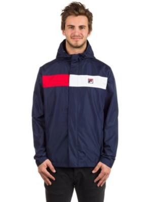 Fila Cardova Jacket peacoat / chinese red / white Gr. M