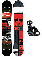 Mechanic 156 + United M Blk 2018 Snowboard Set
