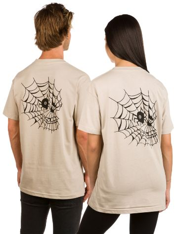 Swallows and Daggers Skull Web T-Shirt