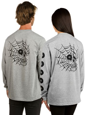 Swallows and Daggers Skull Web Long Sleeve T-Shirt