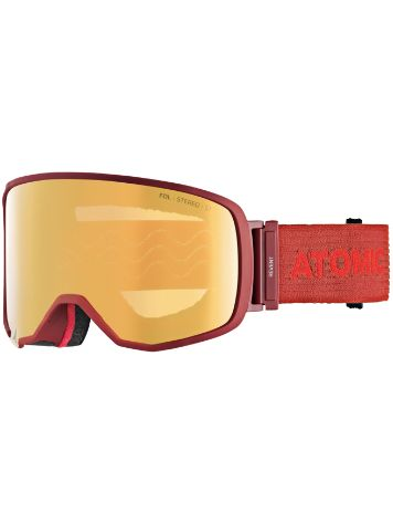 Atomic Revent L Fdl Stereo Otg Red Goggle