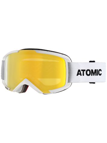 Atomic Savor M Stereo White Goggle