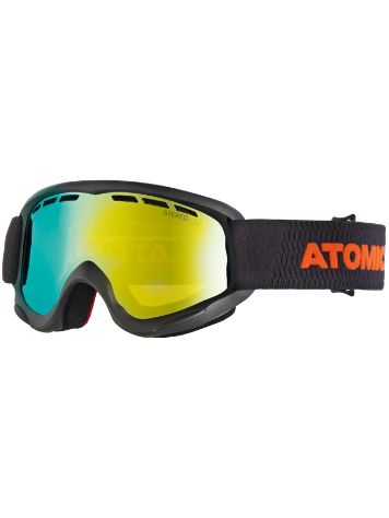 Atomic Savor Rs Stereo Black/Red (+Bonus Lens) Youth Goggle jongens