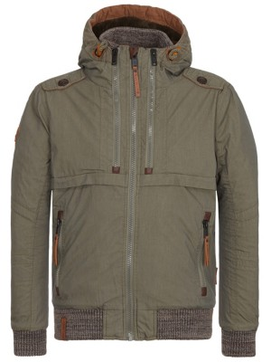 Naketano Herren Jacke Checked Into Rehab Jacket: