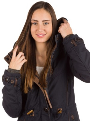 Naketano Becky Pupst V Jacket dark blue Womens