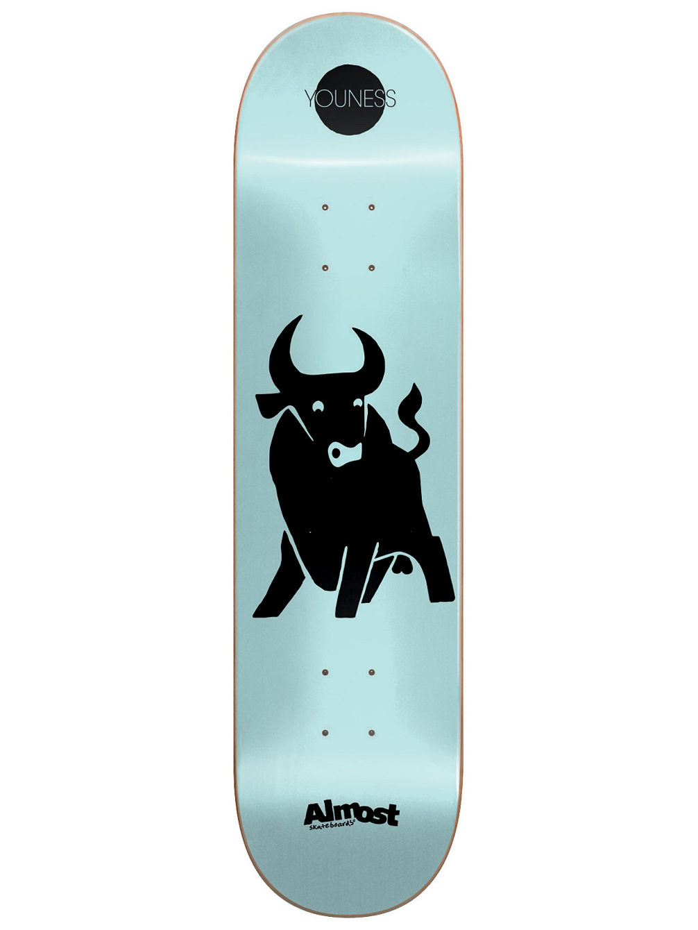 Buy almost black out impact light 825 skate deck online at blue black out impact light 825amp034 skate deck aloadofball Choice Image