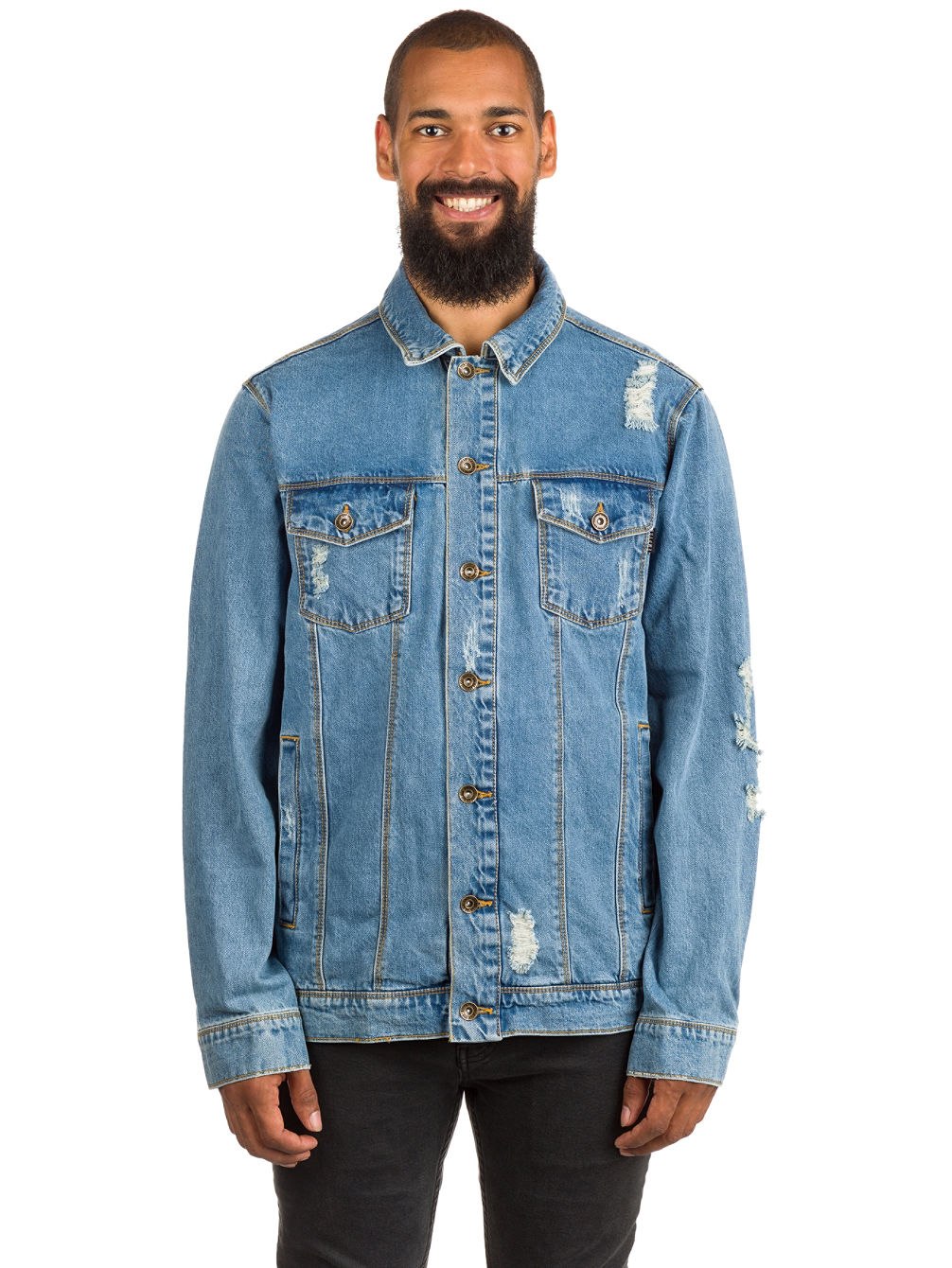 Ticket Jacket Denim