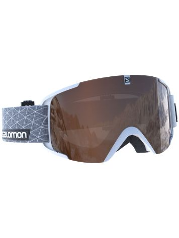 Salomon Xview Access White Goggle