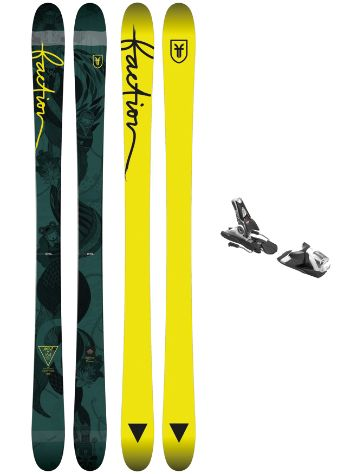 Faction Ambit 164 + SPX 12 Blk/Wht 2018 Conjunto freeski
