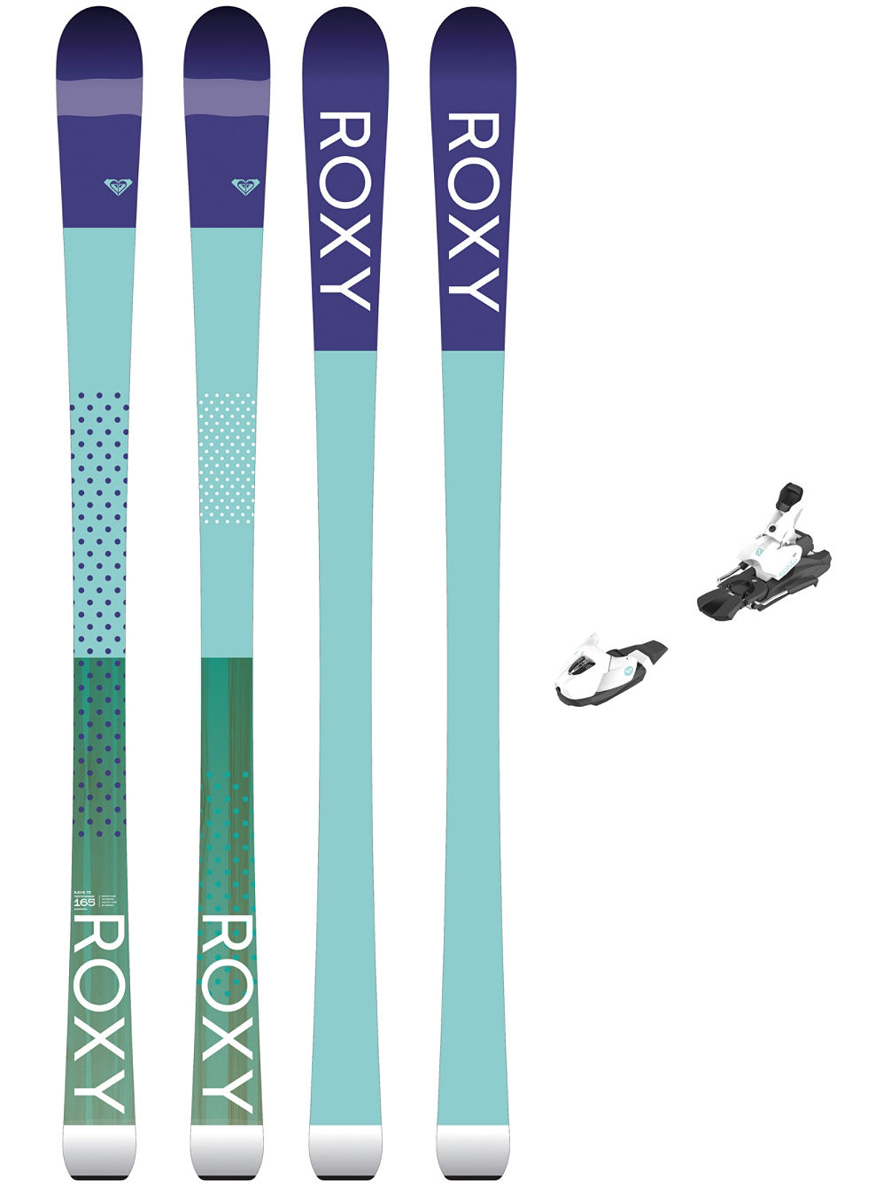 Kaya 72 165 + L7 Ezytrak 2018 Freeski-Set