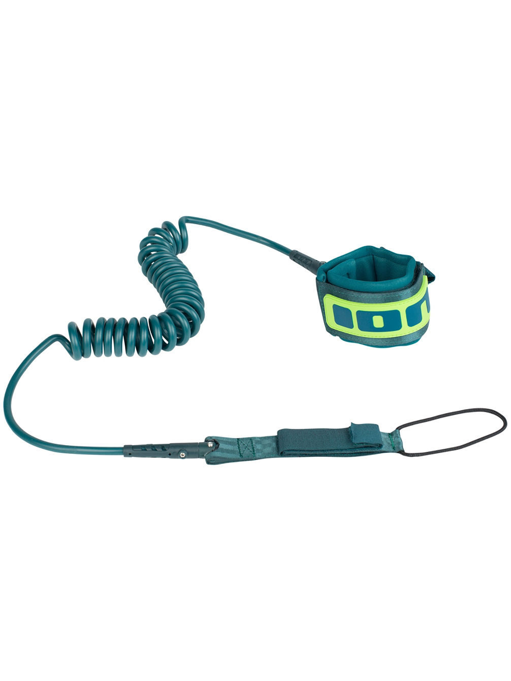 Sup Core 10 Leash Coiled