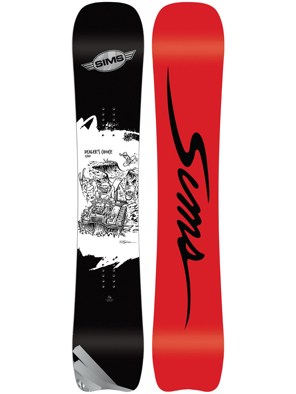 Dealers Choice 157 2018 Snowboard