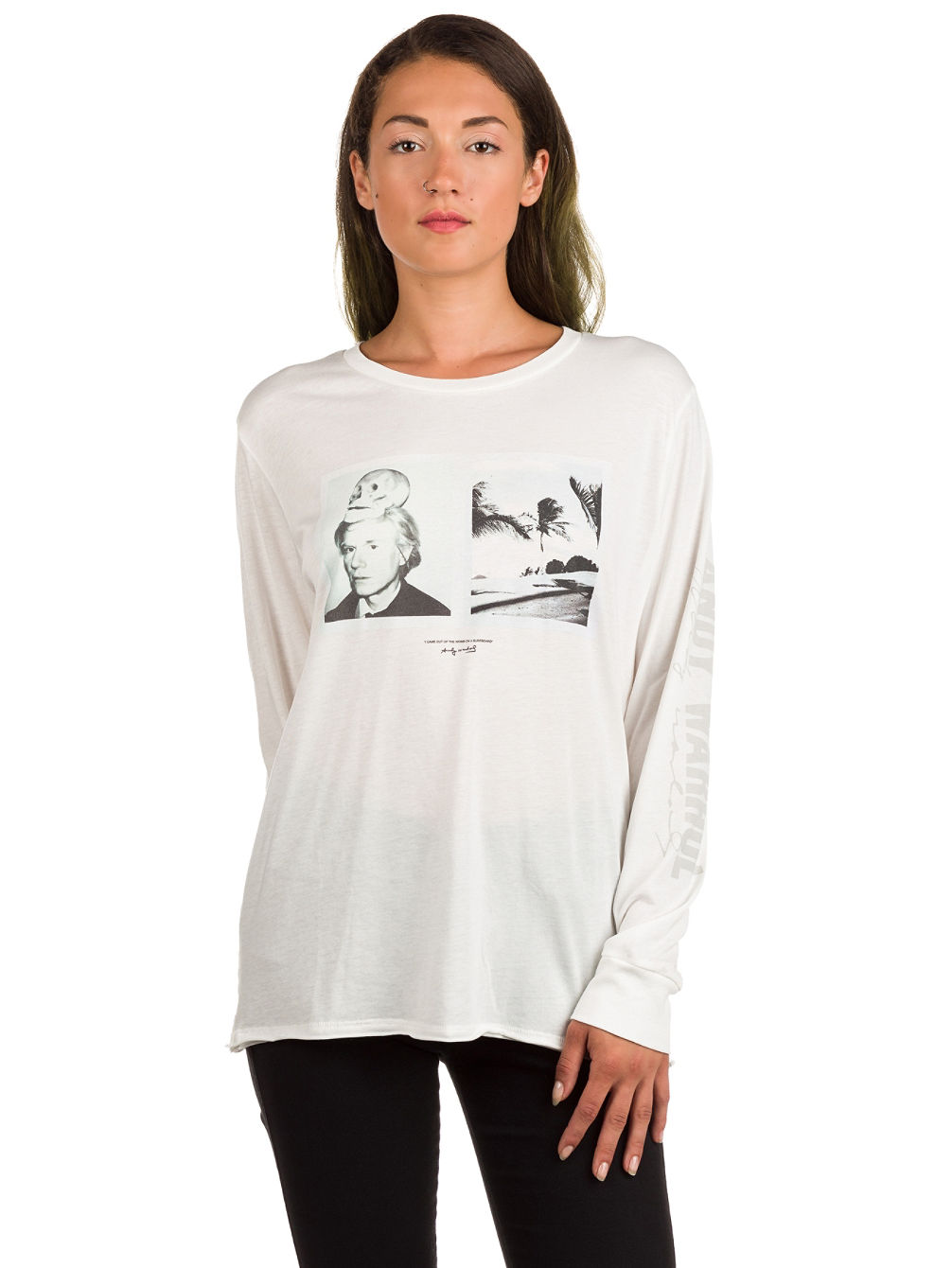 X Warholsurf Hidden Palms T-Shirt