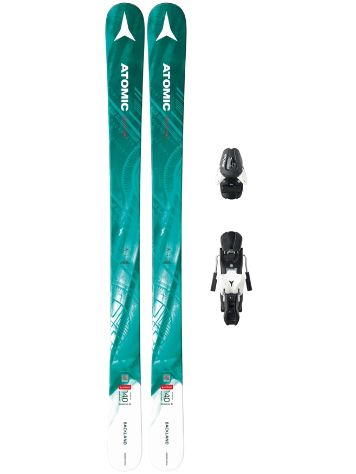 Atomic Backland Girl III 140 + L7 90mm Blk/Wht 2018 Youht Freeski-Set