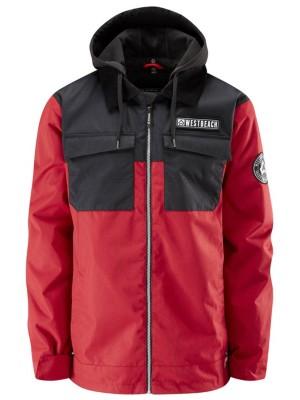 Westbeach Dauntless Jacket chilli red / black Gr. XL