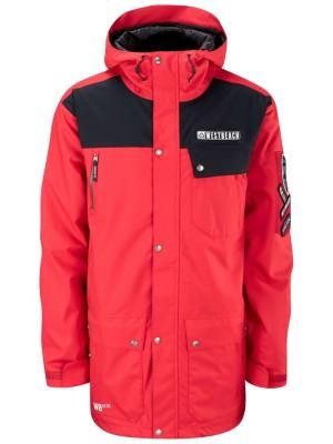 Westbeach Daredevil Jacket chilli red / black Gr. L