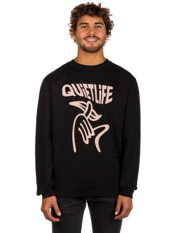 The Quiet Life Shhh Wavey Crew Neck Sweater