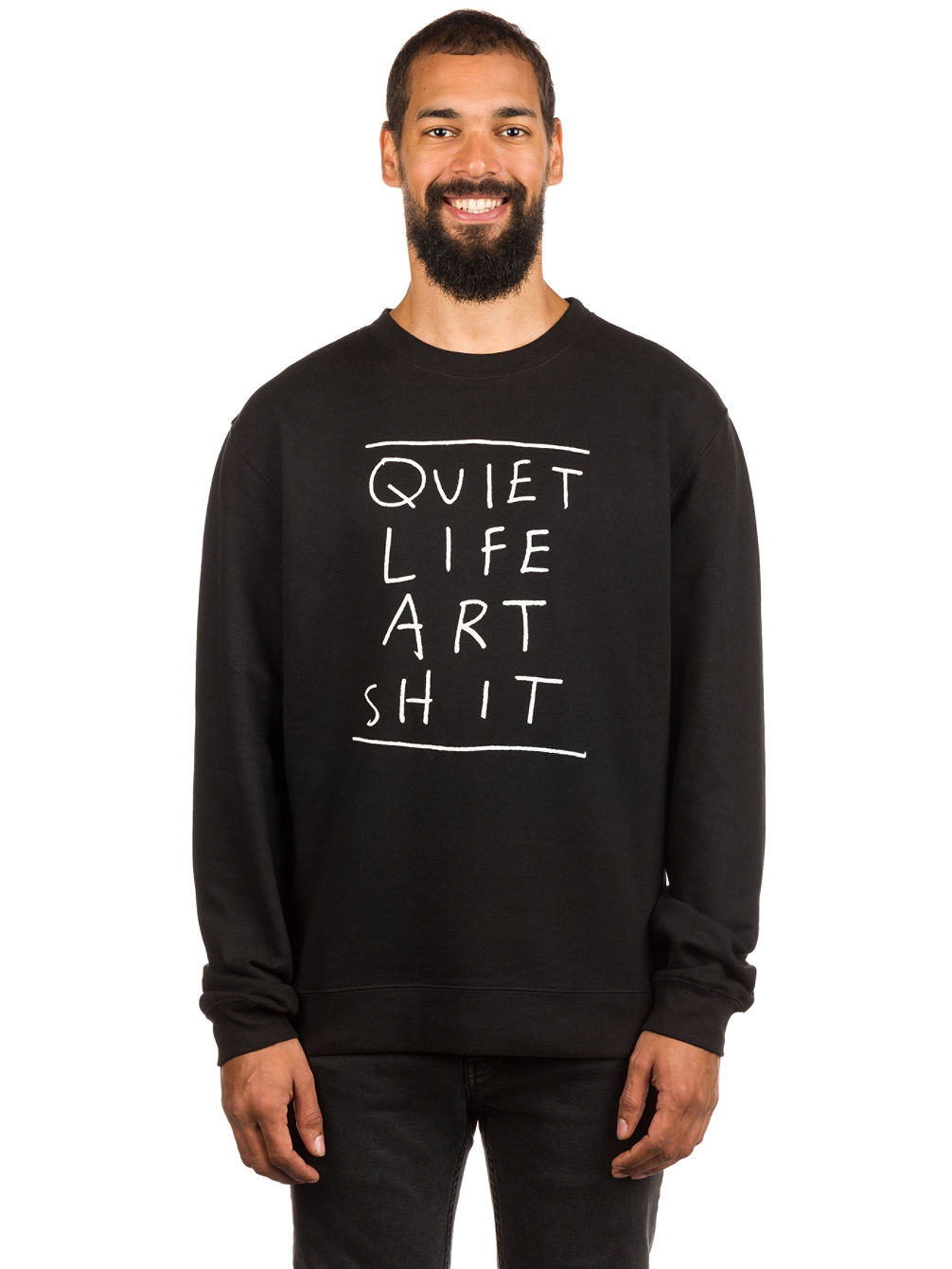 Art Shit Crew Neck Sweater