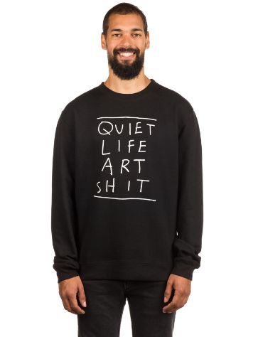 The Quiet Life Art Shit Crew Neck Sweater