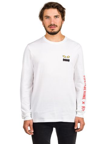 RVCA X Toy Machine T-Shirt LS