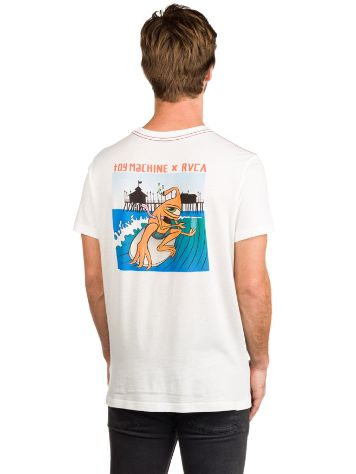RVCA X Toy Machine Surfer T-Shirt
