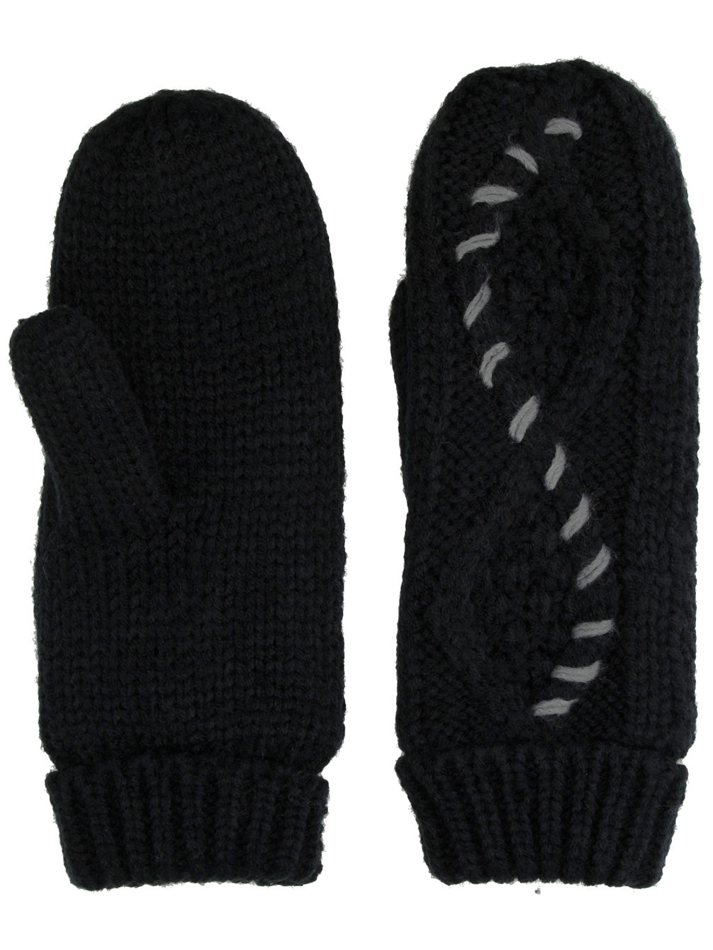 Cable Knit Handschuhe