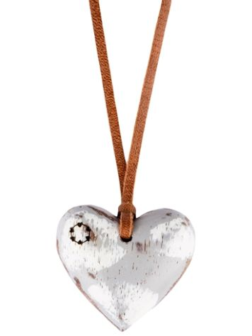 Float Heart Small Colour Necklace