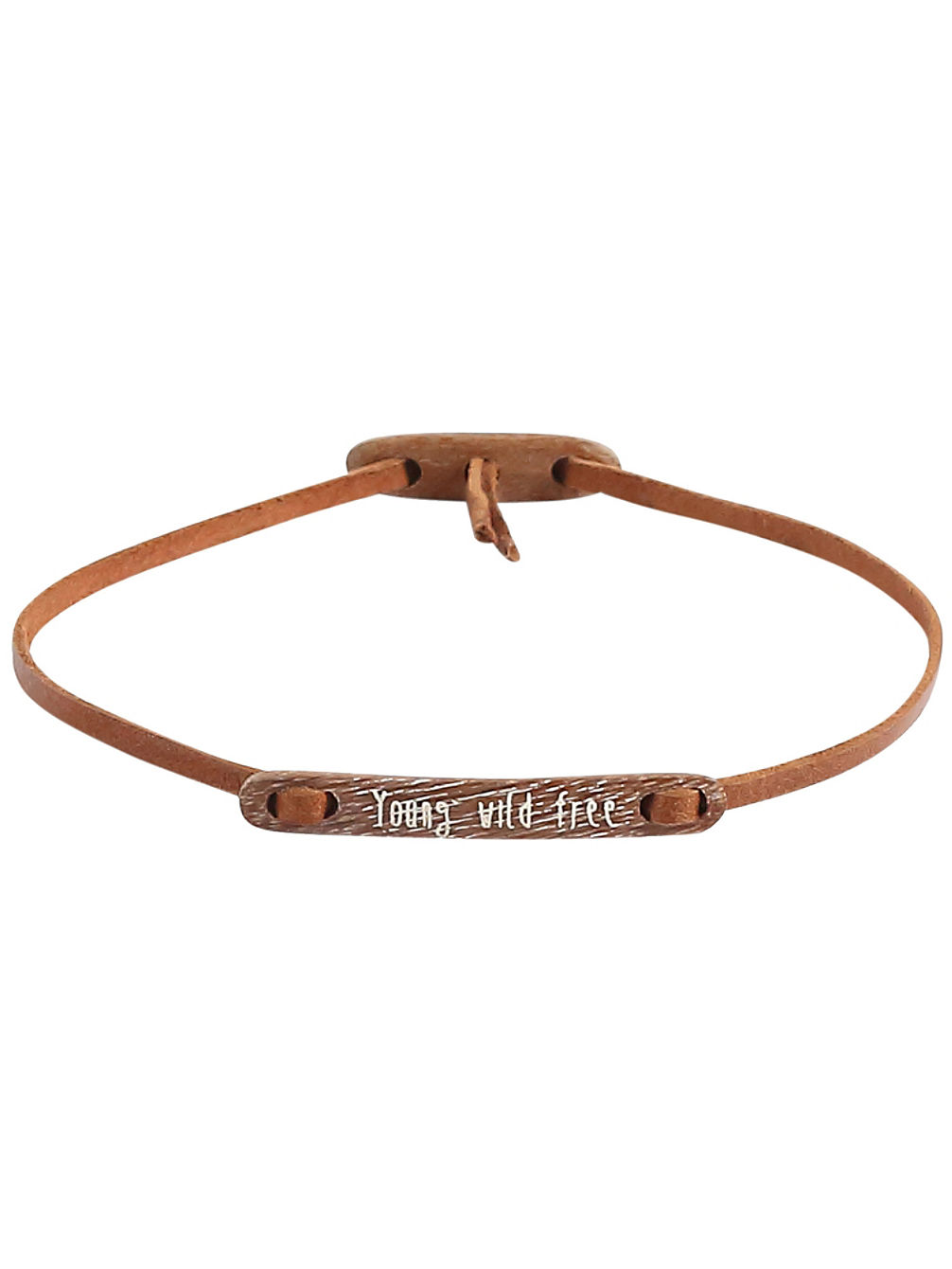 Message Young Wild Free Bracelet