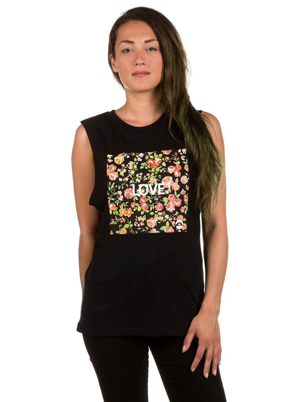 Roses Square Tank Top