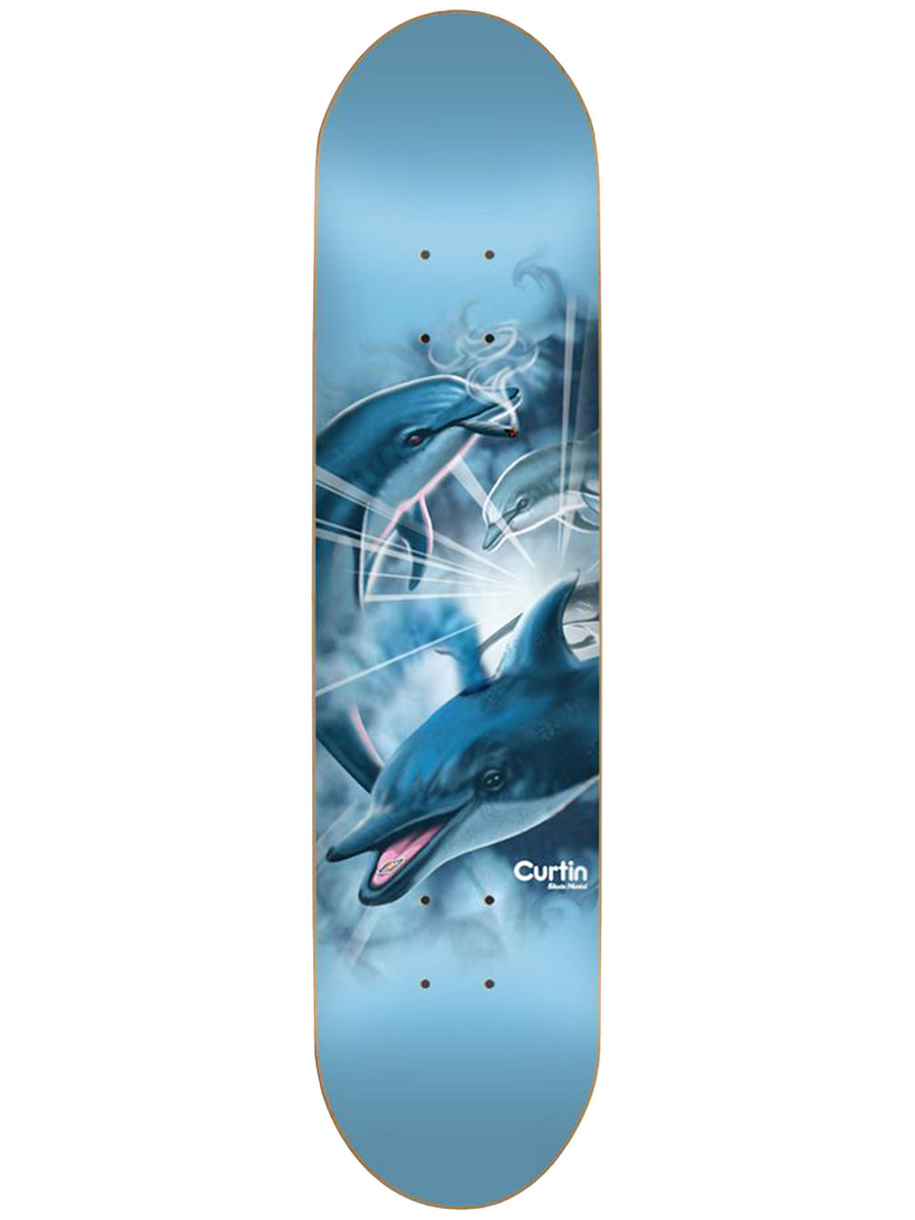 "Curtin Dolphins 8.25"" Skate Deck"