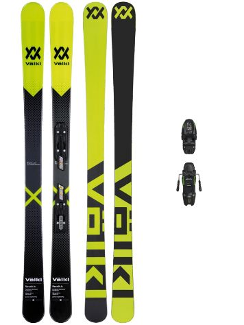 Völkl Revolt 138 + Free7.0 85mm Blk 2018 Boys Freeski-Set
