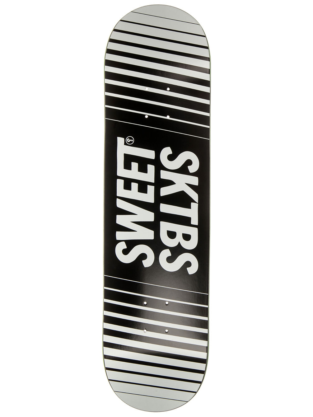 "Official Striped 8.125"" Skate Deck"