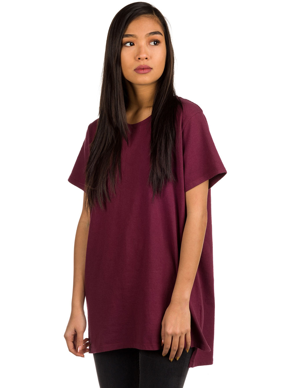 Tully Side Slit Camiseta