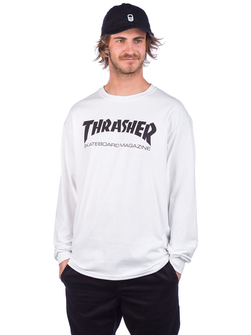 Skate-Mag Long Sleeve T-Shirt