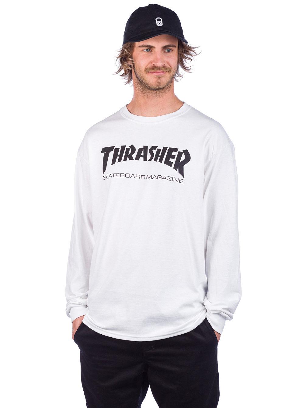 fcde6504426 Buy Thrasher Skate-Mag Long Sleeve T-Shirt online at Blue Tomato