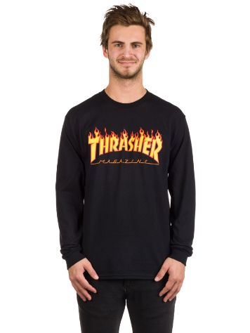 Thrasher Flame Long Sleeve T-Shirt
