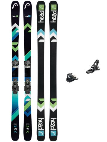 Head The Show 172 + AAAttack 11 90mm 2018 Conjunto freeski