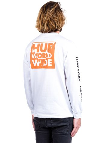 HUF International Block T-Shirt LS