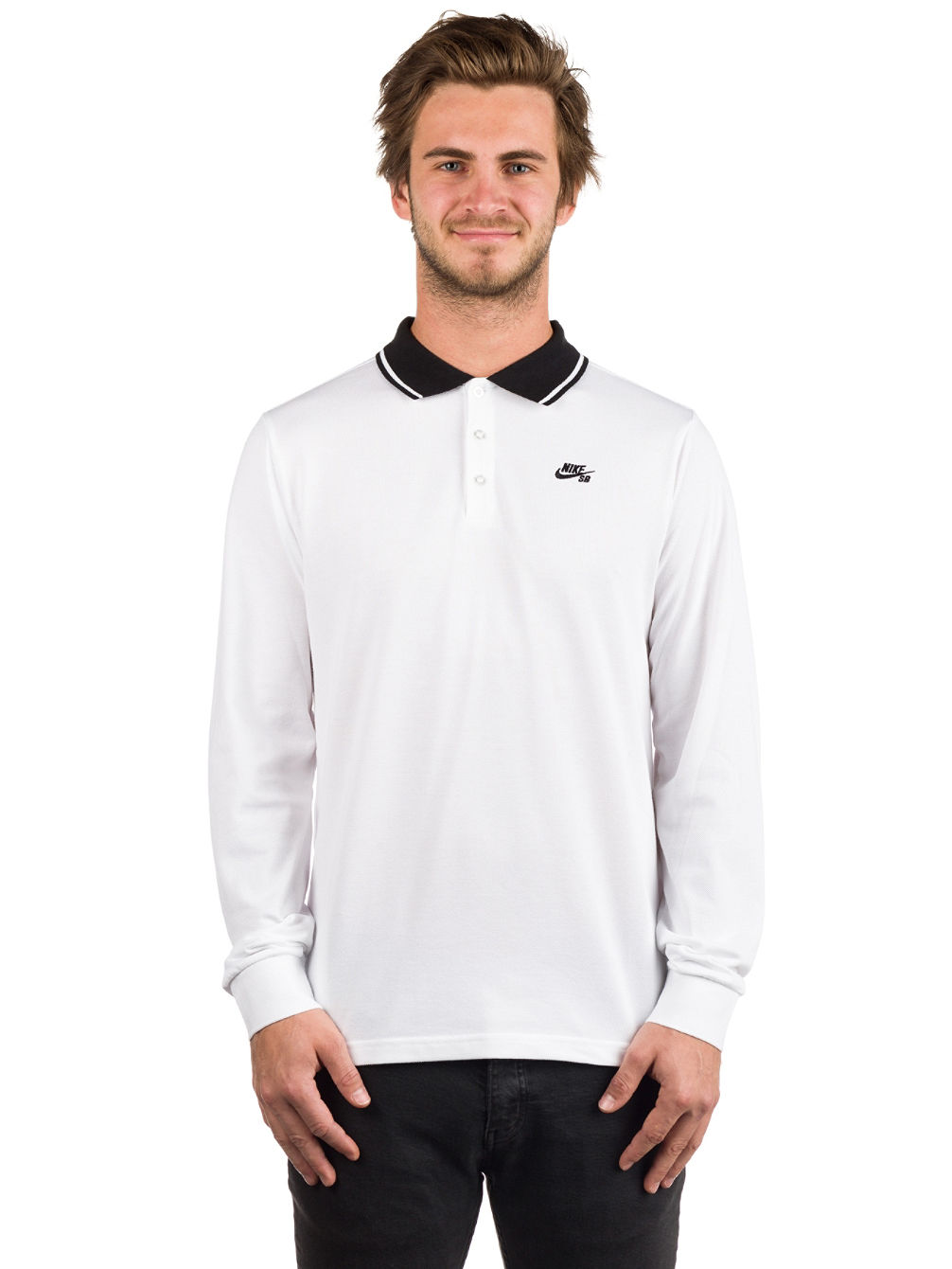 477a59cd Buy Nike SB Dry Polo LS online at Blue Tomato