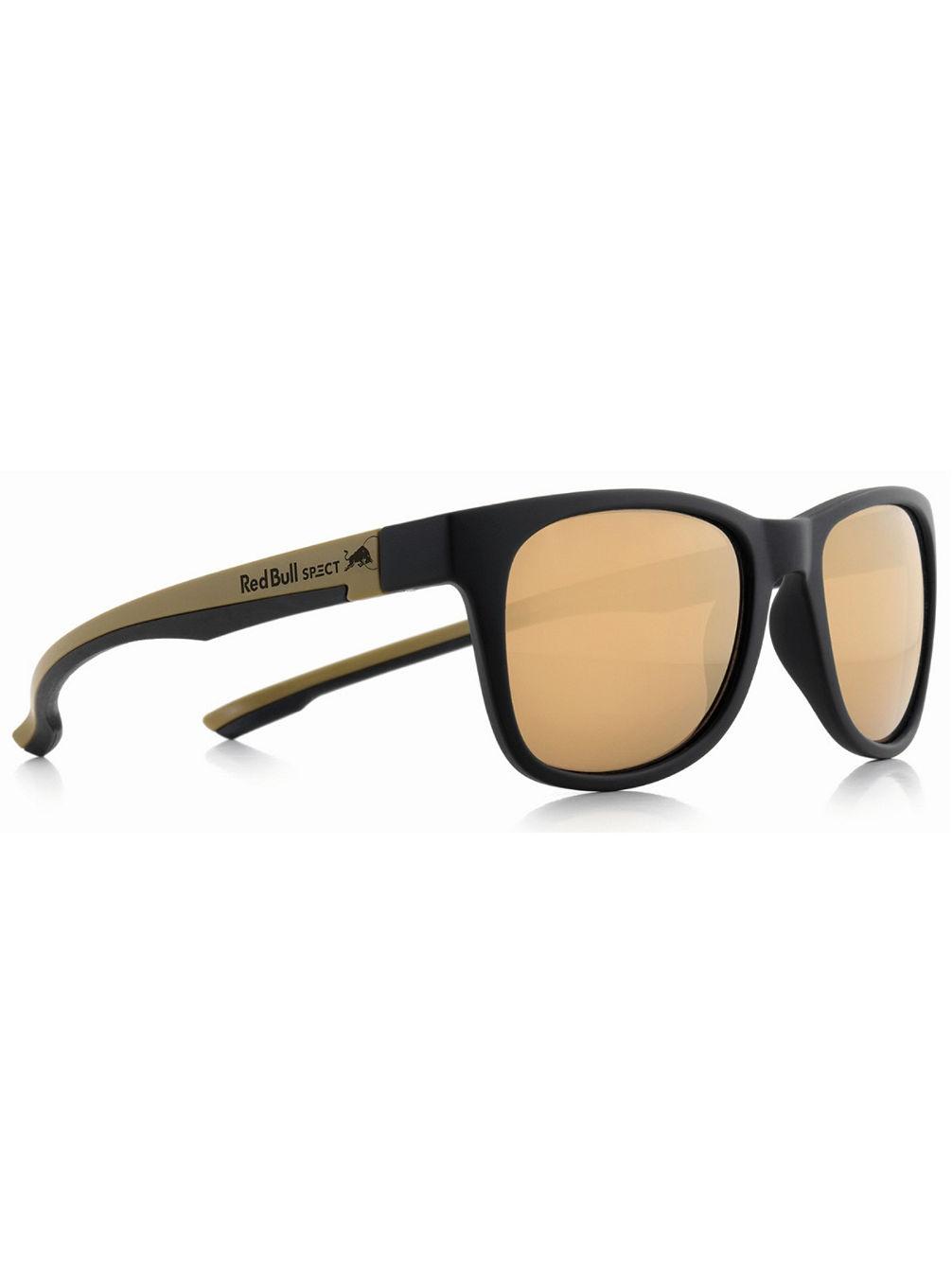 aef016c743 Buy Red Bull SPECT Eyewear Indy Matte Black Matte Gold Temple Black ...