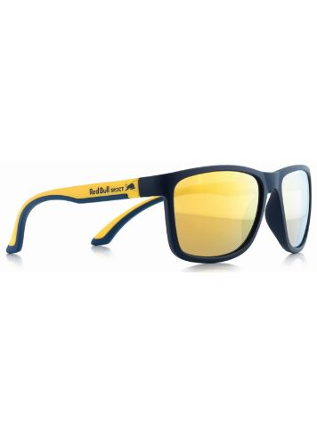 Red Bull Spect Eyewear Twist Matte Dark Blue/Matte Yellow Temple Sonnenbrille