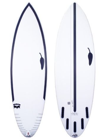 LSD Surfboards Chilli Rare Bird 6.0 50/50 Futures Surfboard