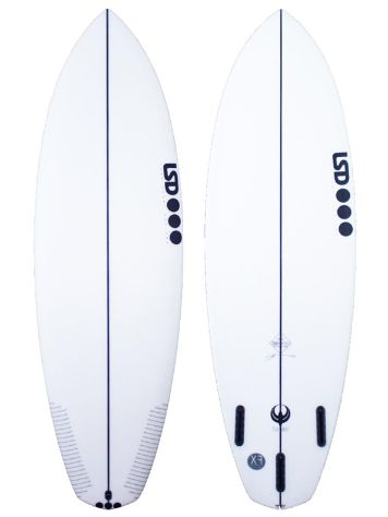 LSD Surfboards Twinny 5.8 Xf Futures