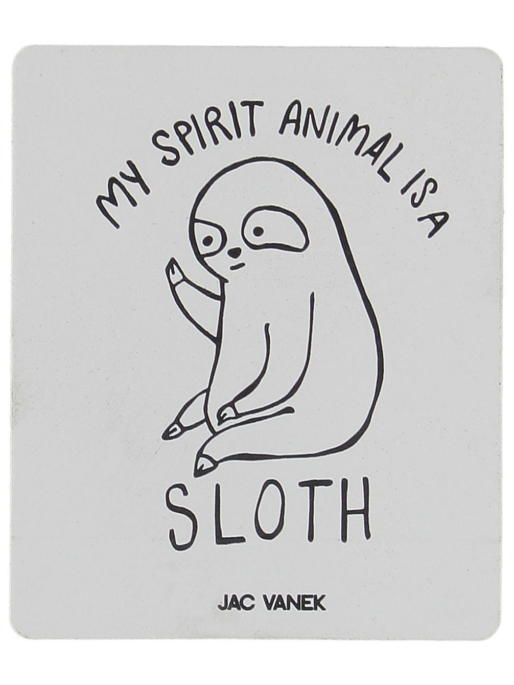 Spirit Sloth Sticker